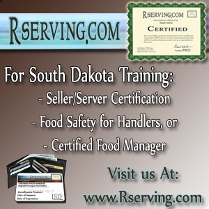 South Dakota Alcohol Seller and Server license